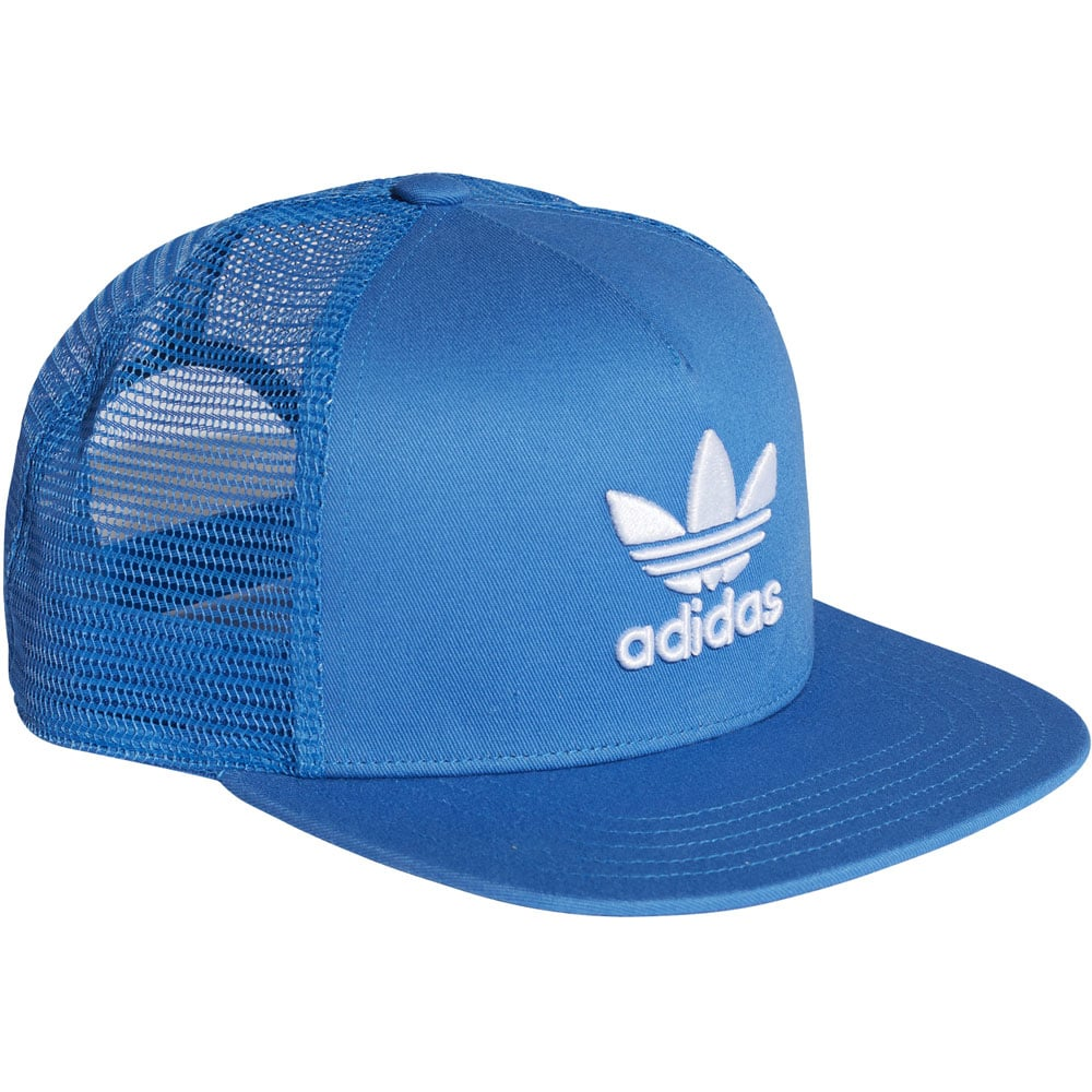 adidas Originals Trefoil Trucker Cap Bluebird