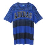 Adidas NY Tee Dress Damen-Kleid S19924 Bold Blue/Black