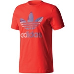 adidas Originals Trefoil 1 Tee Herren-Shirt Red