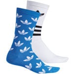 adidas Originals Thin Crew Socks 2 Paar Socken Blue/White/Black