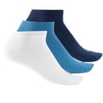 adidas Performance No Show Thin 3 Paar Socken Navy/White/Blue