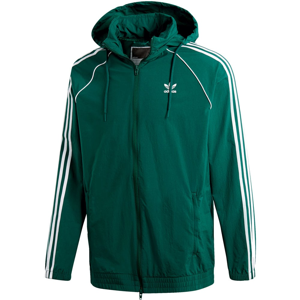 adidas Originals Superstar Windbreaker Herren-Jacke Green