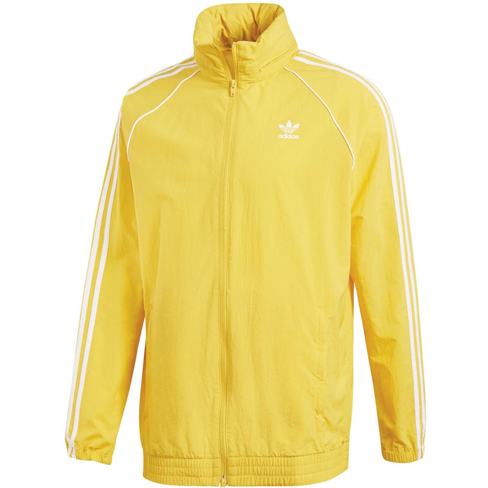 adidas Originals Superstar Windbreaker Herren-Jacke Tribe Yellow
