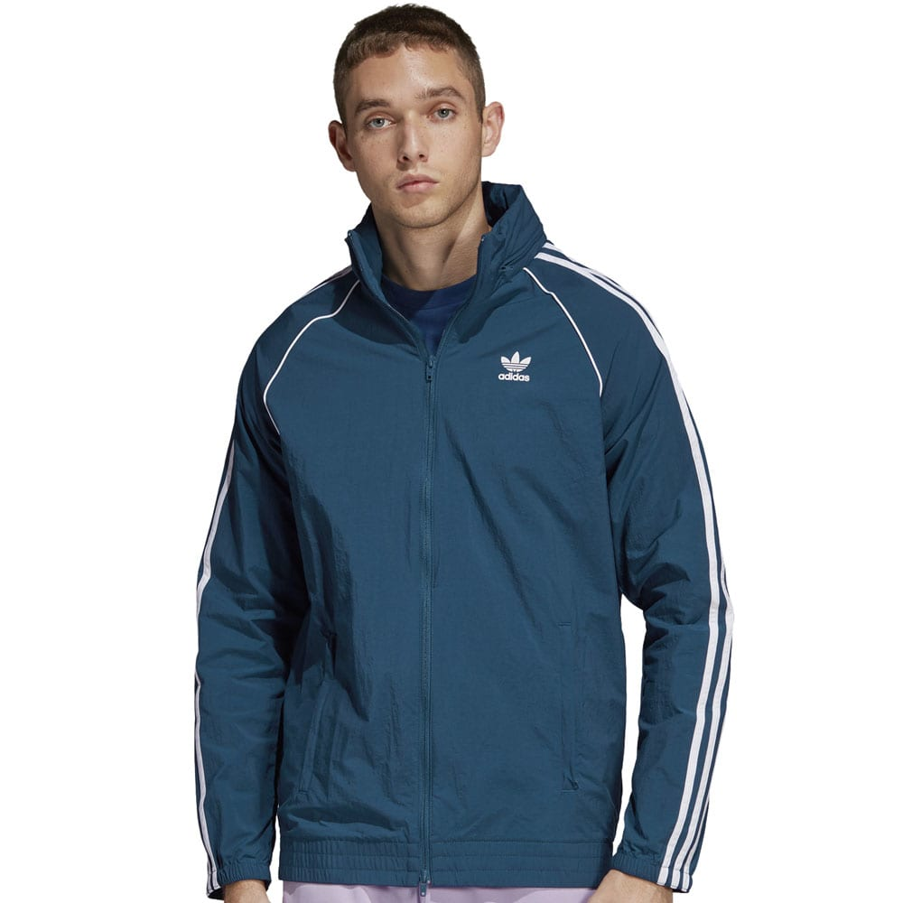 adidas Originals Superstar Windbreaker Herren-Jacke Legend Marine