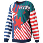 adidas Originals New York Archive Damen-Sweatshirt Multicolor