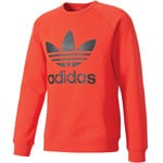 adidas Originals Trefoil Fleece Crew Herren-Sweatshirt Red