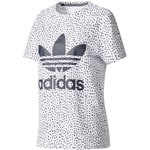 adidas Originals T-Shirt Damen White/Legend Ink