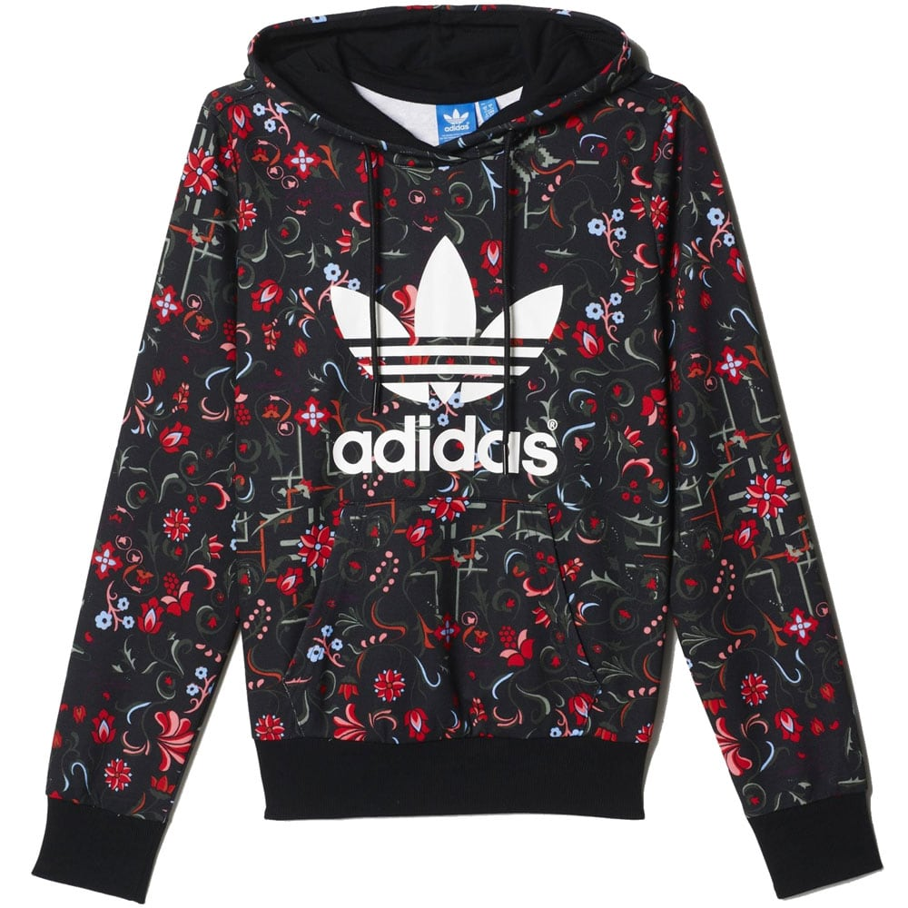 adidas pullover damen blumen. Black Bedroom Furniture Sets. Home Design Ideas