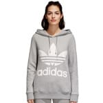 adidas Originals Trefoil Logo Damen-Hoody Grey