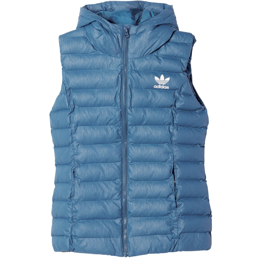 06fca4b5f4a5 adidas Originals Slim Vest Damen-Daunenweste Tech Steel   Fun-Sport ...