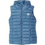 adidas Originals Slim Vest Damen-Daunenweste Tech Steel