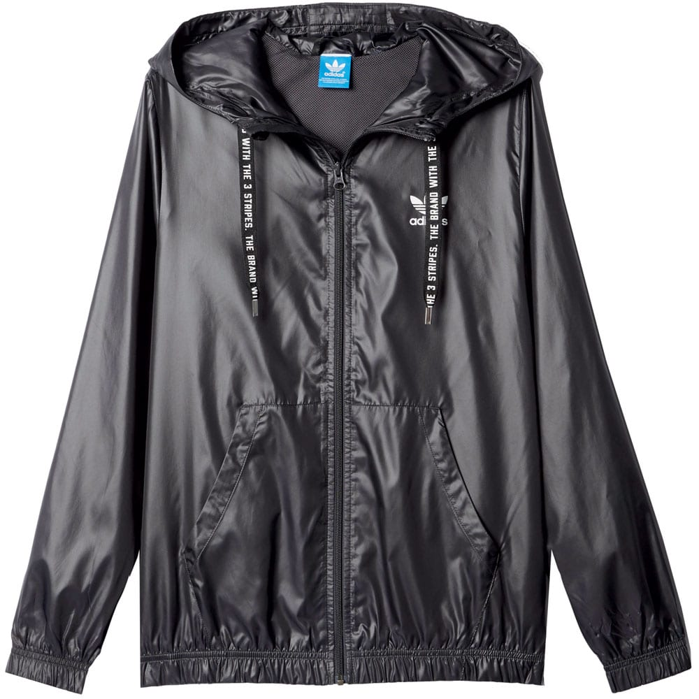adidas originals windbreaker damen jacke shadow black fun sport vision. Black Bedroom Furniture Sets. Home Design Ideas
