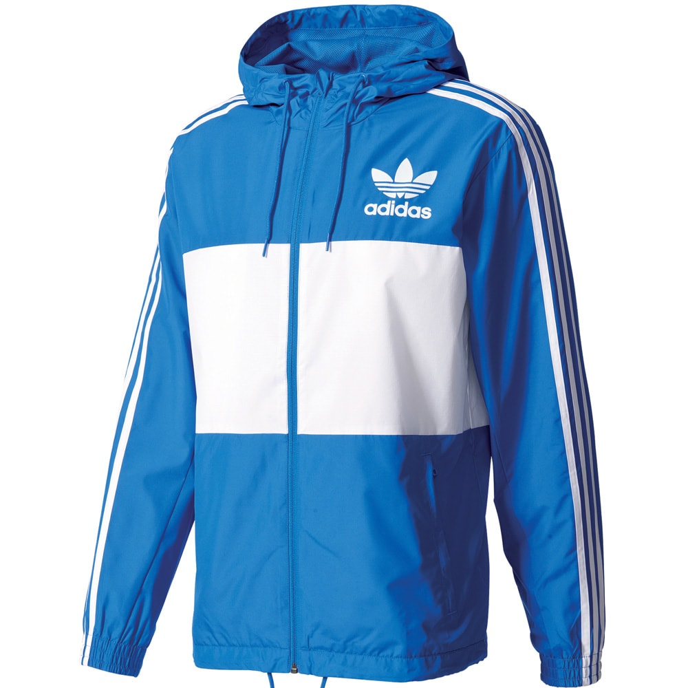 adidas originals california windbreaker herren jacke blue fun sport vision. Black Bedroom Furniture Sets. Home Design Ideas