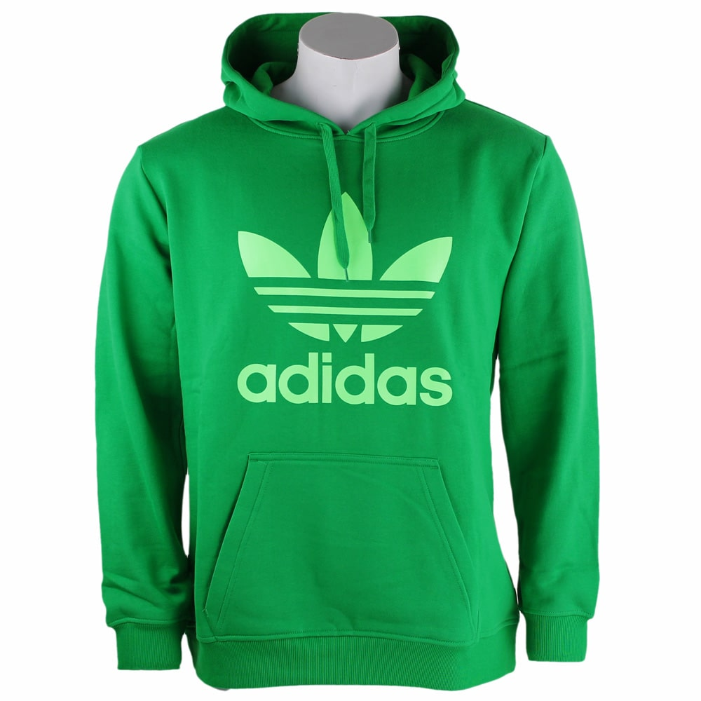 hot sales fbe1f 6835d Adidas Trefoil Hoodie Z31833 (Green)