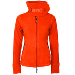 Bench FUNNEL NECK FLEECE Fleecejacke  (orange or035)