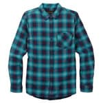 Burton Grace Long Sleeve Flannel Jaded Haze Plaid