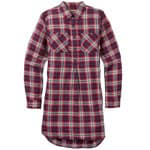 Burton Grace Tunic Long Sleeve Flanell-Tunika Anemone Haze Plaid