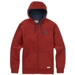 Burton Elite Full Zip Herren-Sweatjacke Fired Brick