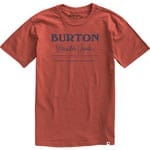 Burton Durable Goods Short Sleeve Herren-Shirt Tandori