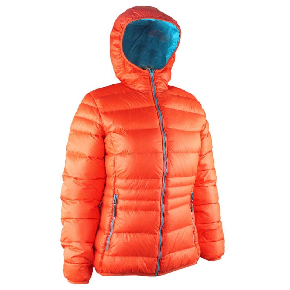 Campagnolo Damen Daunen Jacket 3Z16026 (Orange 456E) | Fun ...