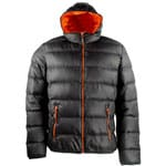 Campagnolo Men Hodded Down Jacket 3Z62527 (Antracite Fiesta 464E)