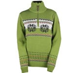 Campagnolo Woman Knitted Pullover 7H76476 Olive E292