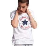 Converse Core Chuck Patch Tee Herren-Shirt White