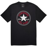 Converse Core Chuck Patch Tee Herren-Shirt Black