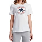 Converse Core Chuck Patch Tee Damen-Shirt White