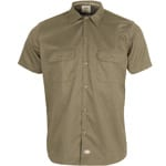 Dickies Short Sleeve Slim Work Shirt Hemd Desert Sand