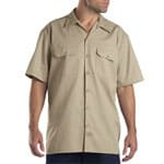 Dickies Short-Sleeve Work Shirt Herren-Hemd Khaki