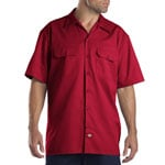 Dickies Short-Sleeve Work Shirt Herren-Hemd English Red