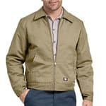 Dickies Unlined Eisenhower Jacket Rinsed Khaki