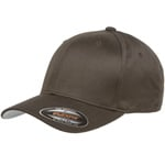Flexfit Wooly Combed Cap - Brown
