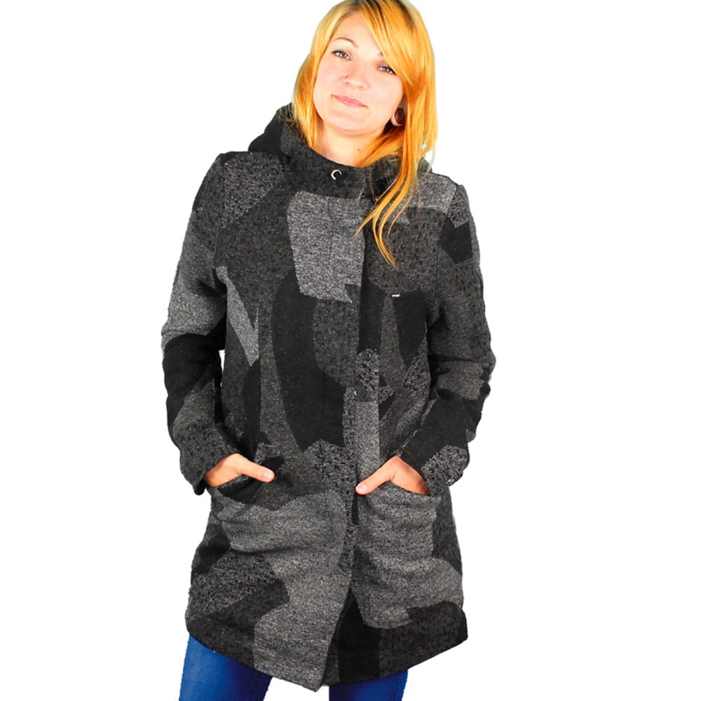 khujo cattleye damen winterjacke multi pattern fun sport vision. Black Bedroom Furniture Sets. Home Design Ideas