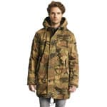 khujo John Herrenjacke Washed Camo