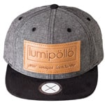 lumipoelloe Saimaa Cap - Dark Grey Natural