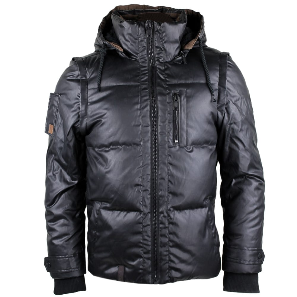 naketano knoeterich herren winterjacke black fun sport. Black Bedroom Furniture Sets. Home Design Ideas