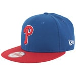 New Era Cap Reverse Philadelphia Philies Royal Scarlet