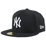 New Era MLB Basic New York Yankees Cap Black White