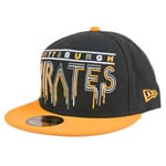 New Era Percolator Pittsburgh Pirates Cap - Black Yellow