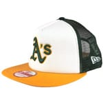 New Era Cap Team Mesh Oakland Athletics OTC Green