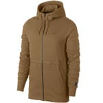 Nike Air Force 1 Hoodie Full-Zip Herren-Sweatjacke Golden Beige