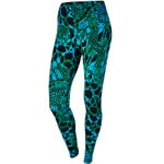 Nike Club Damen-Leggings Blue Allover-Print
