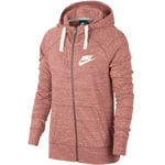 Nike Gym Vintage Hoodie Full-Zip Damen-Sweatjacke Rust Pink/Sail