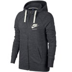 Nike Gym Vintage Hoodie Full-Zip Damen-Sweatjacke Anthracite