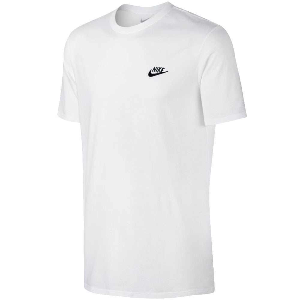 Nike Sportswear Club Tee Herren-Shirt White/Black