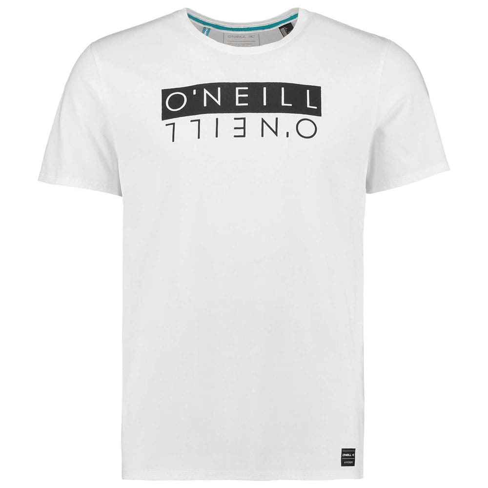 Oneill Duo Hybrid Herren-T-Shirt Powder White