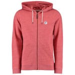 Oneill Originals Full Zip Herren-Kapuzenpullover Aurora Red