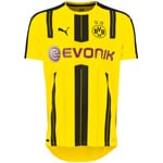 PUMA BVB Mens Home Replica Shirt Herren-Trikot Cyber Yello